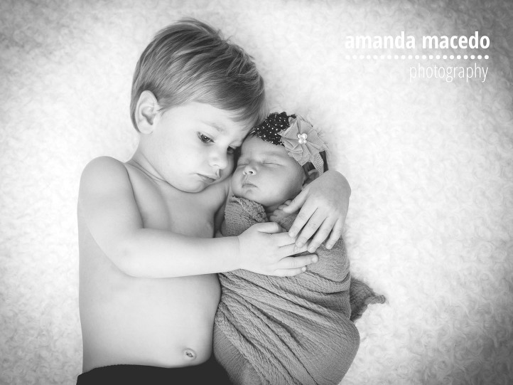 San antonio newborn photographer macey was the perfect sleepy newborn angel for her newborn photo session and her big brother grant was a total champ